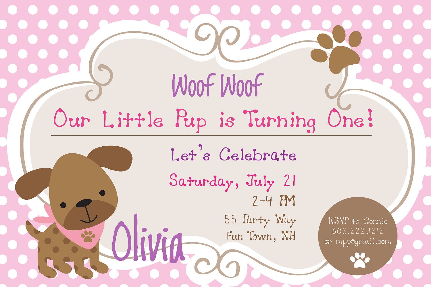 puppy birthday party invitations  mickey mouse invitations templates, Party invitations