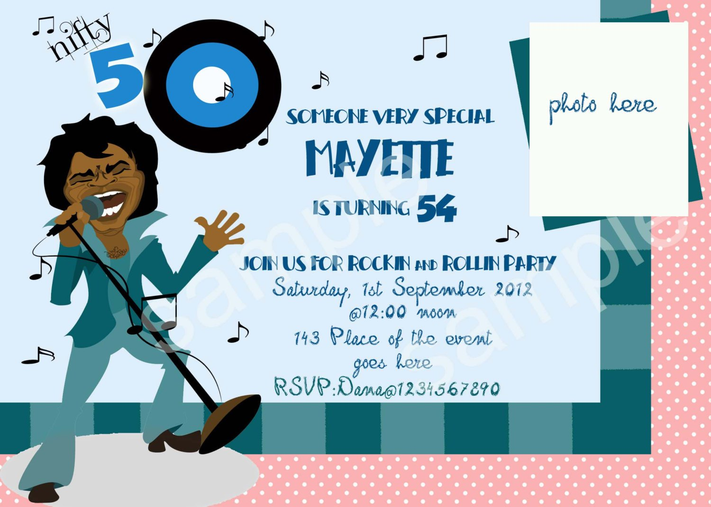 50th Birthday Party Invitations Wording Ideas