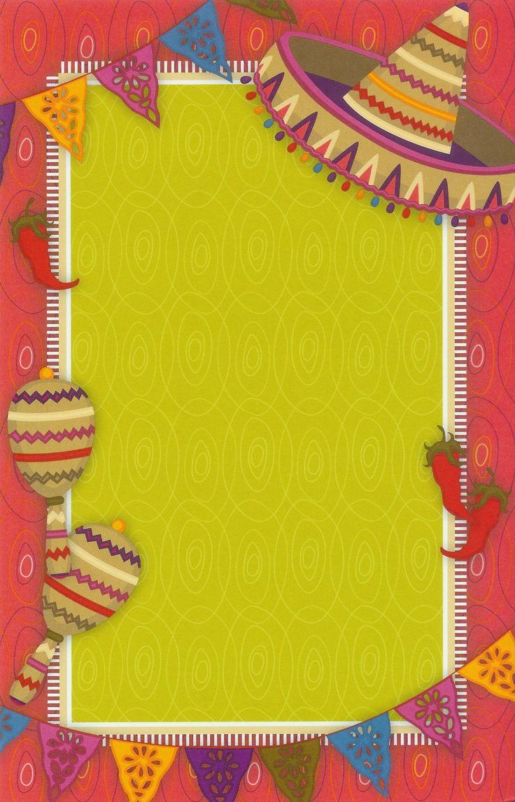 78 Best Ideas About Fiesta Invitations On Pinterest