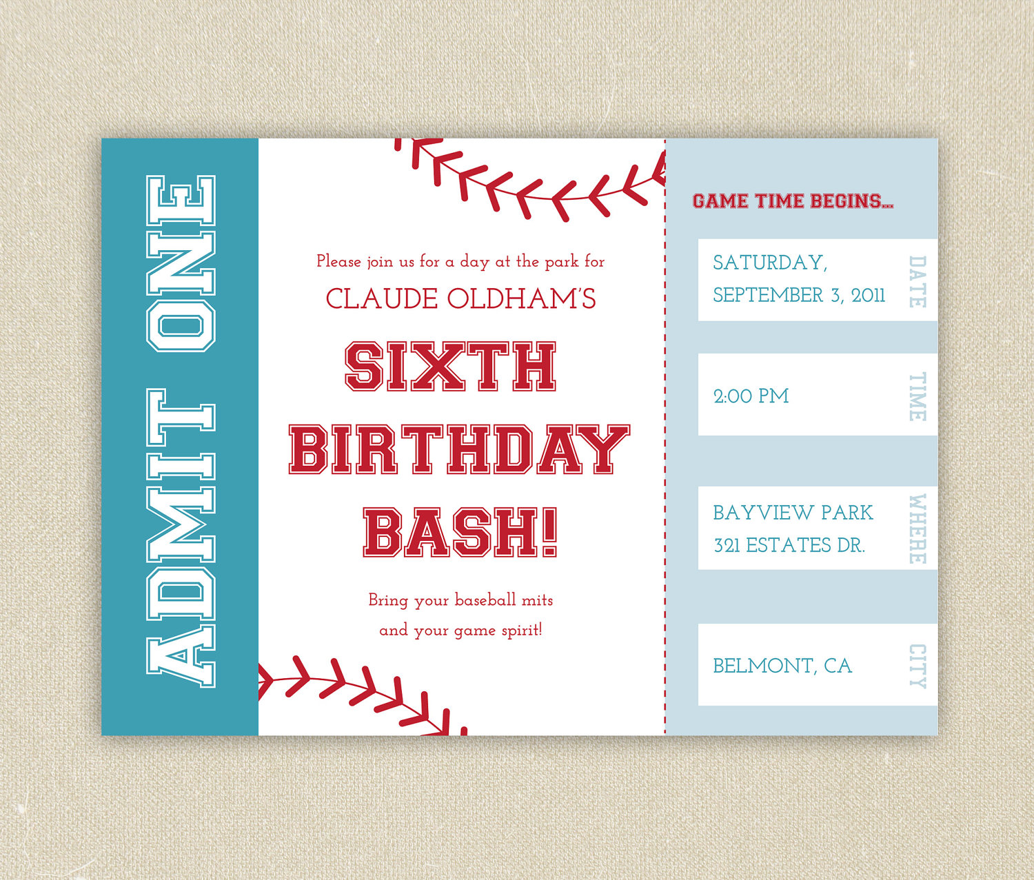 baseball themed birthday party invitations  mickey mouse, Party invitations