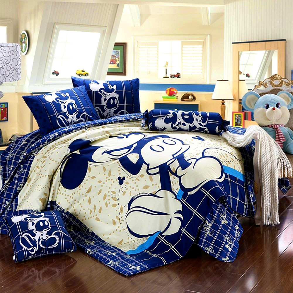 Bedroom  Mickey And Minnie Mouse Bedding  Picturesque A