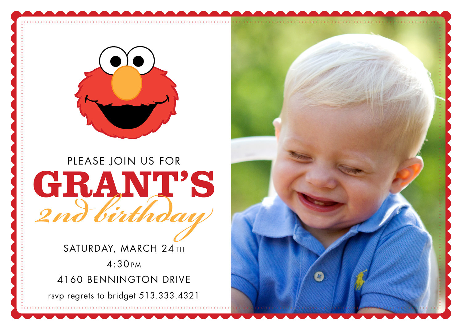 2nd Birthday Invitation Wording Minnie Mouse Custom Invitations – 2nd Birthday Invite Wording