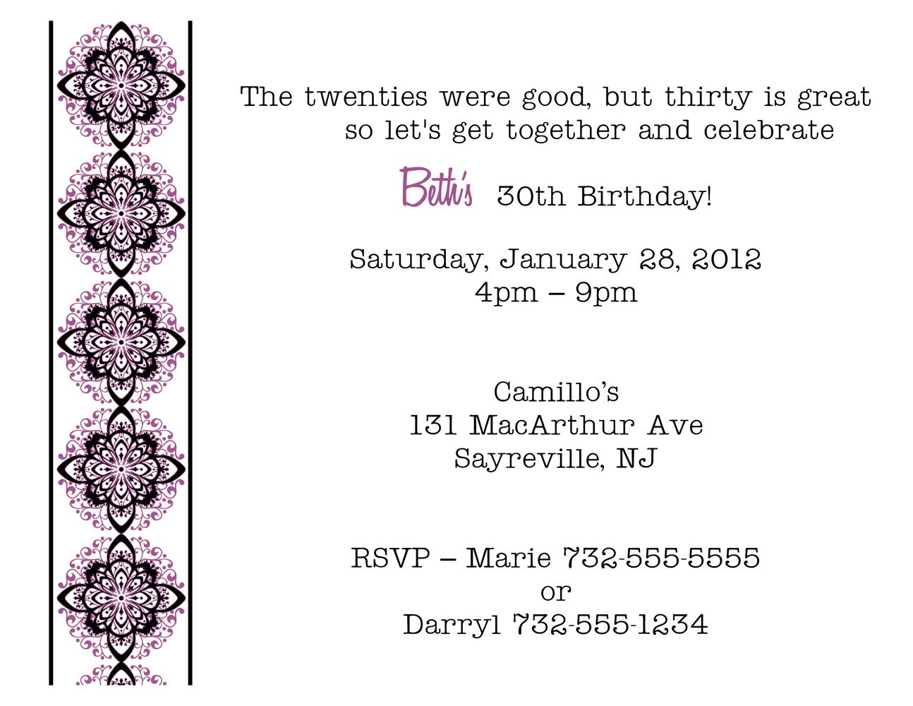 funny th birthday party invitation wording  mickey mouse, Birthday invitations