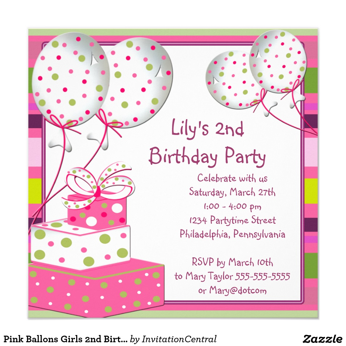 invitation card party birthday thevillas co