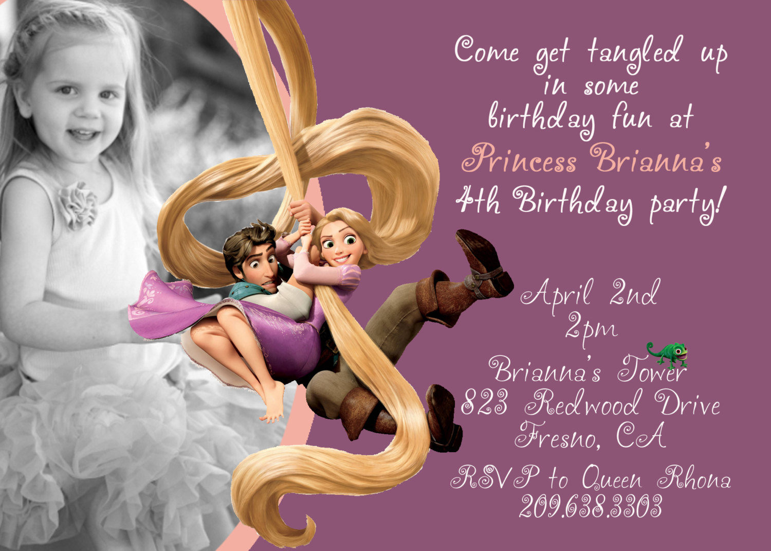 Rapunzel Party Invitations Mickey Mouse Invitations Templates – Rapunzel Party Invitations