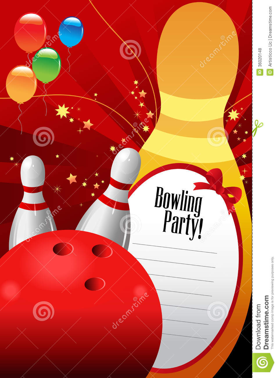 Bowling Birthday Party Invitations Free Templates Mickey Mouse - Bowling birthday party invitations free templates