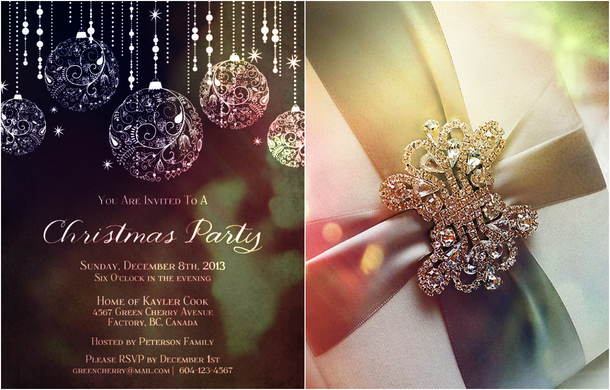 Doc512512 Elegant Party Invites Elegant Party Invitation – Elegant Holiday Party Invitations
