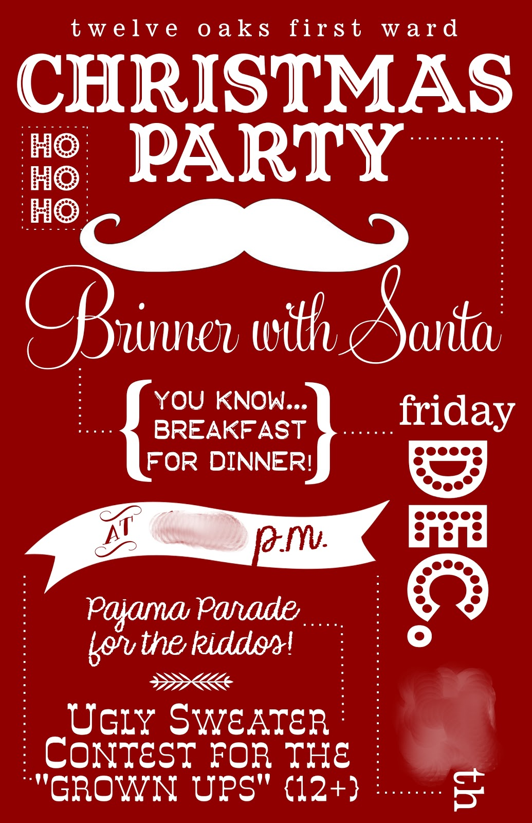 Christmas Dinner Invitations Pinterest