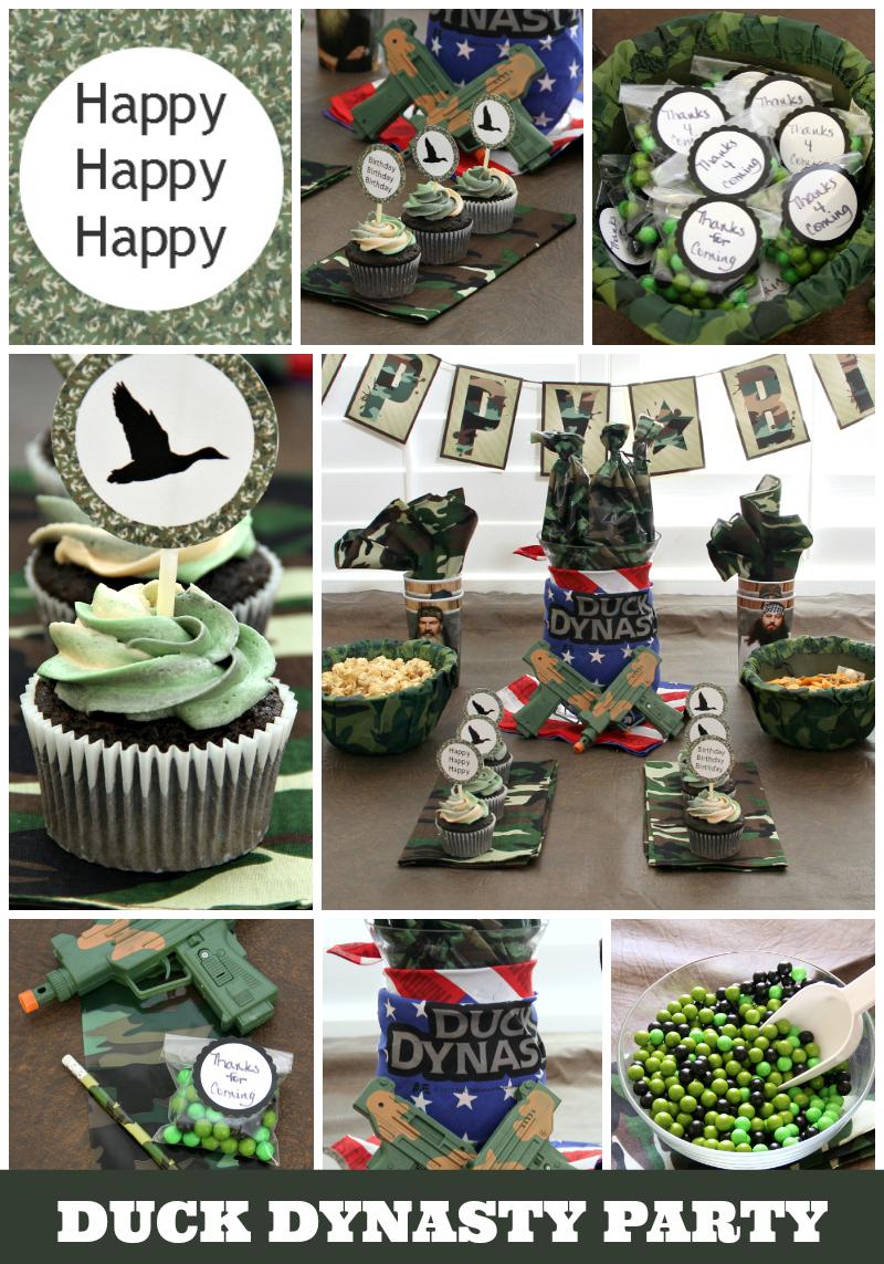 Duck dynasty birthday party invitations filmwisefo