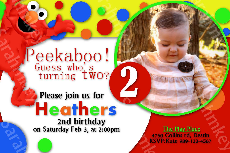 Elmo Party Invitations - Mickey Mouse Invitations Templates