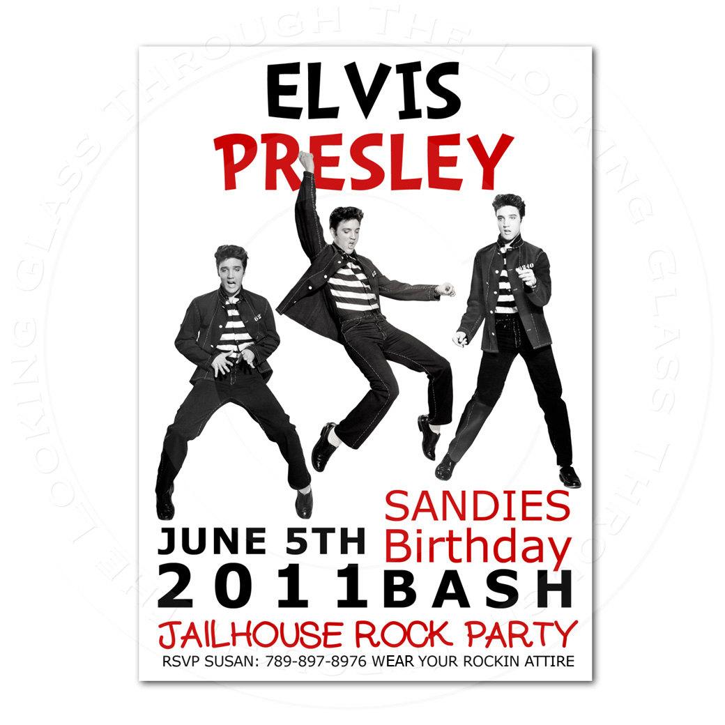 Elvis birthday party invitations elvisbirthdaypartyinvitations0g filmwisefo