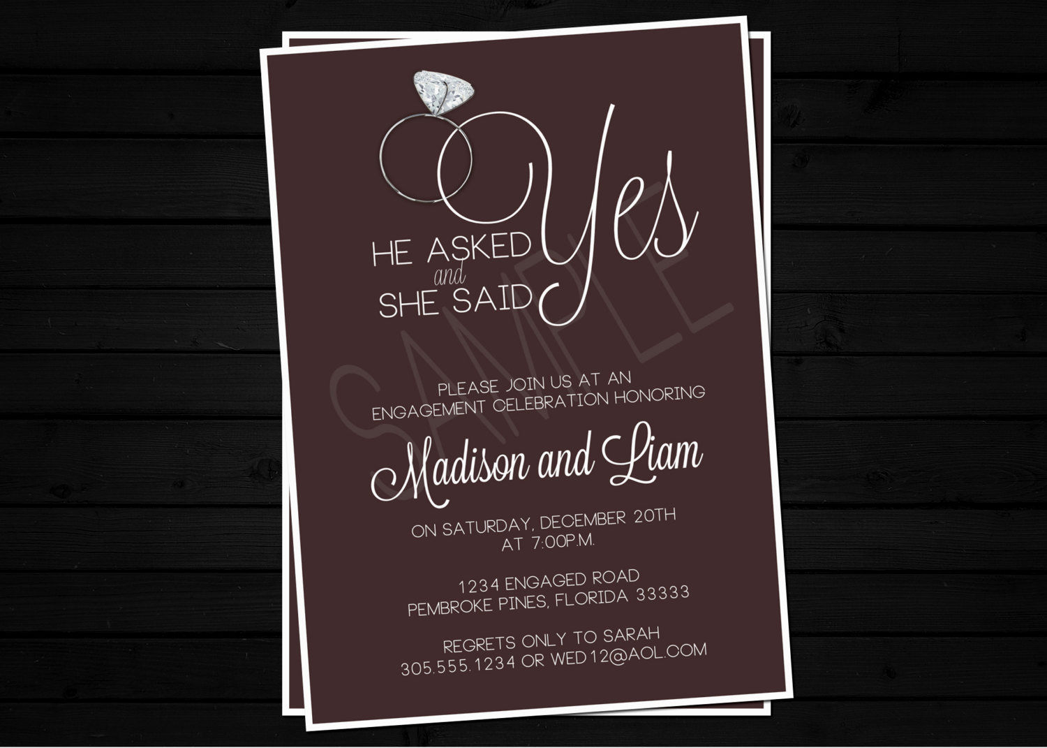 Free engagement party invitation templates mickey mouse for Invitation for engagement party