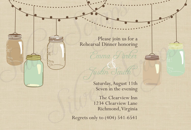 Free Dinner Invitation address template word