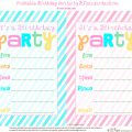 Free Downloadable Party Invitations