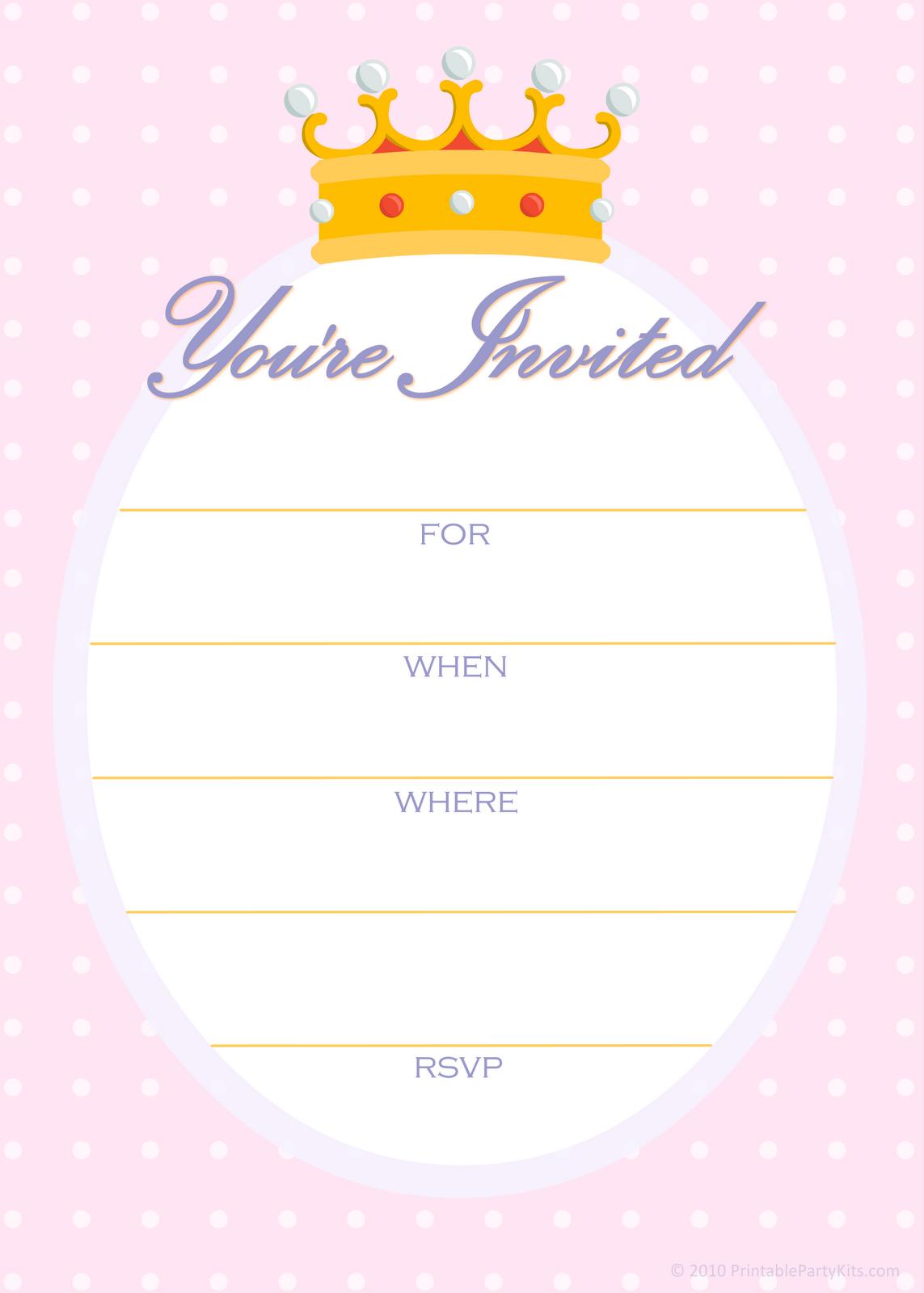 blanks on pinterest free printable invitations on pinterest free printable party owl - Blank Party Invitations