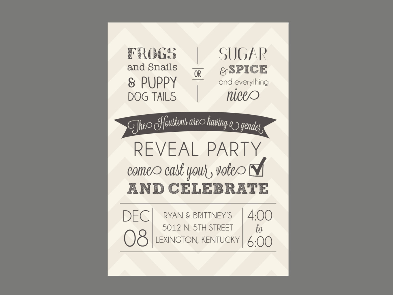 gender reveal party invitations - Free Printable Gender Reveal Party Invitations