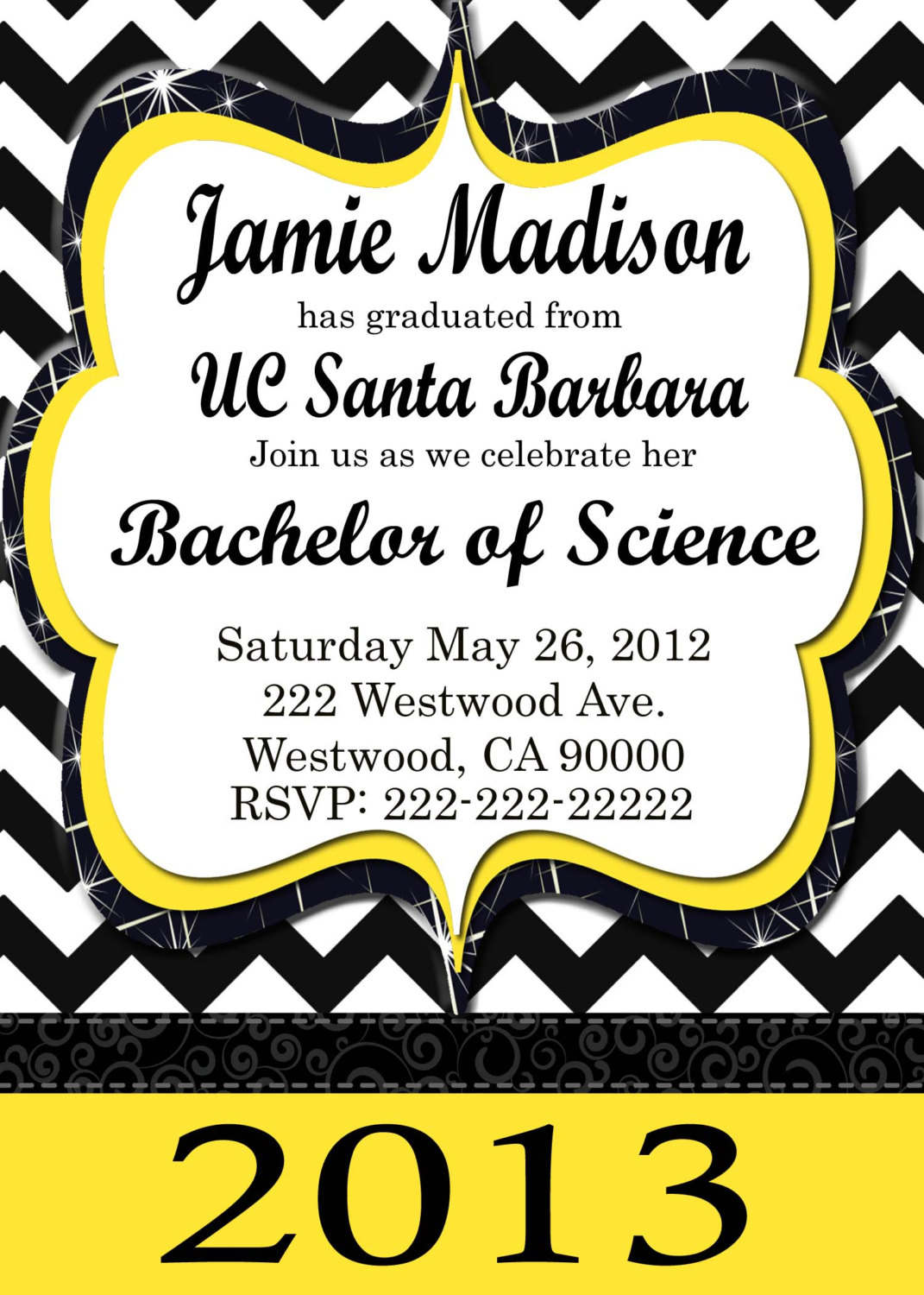 Free Printable Graduation Invitation Templates gangcraftnet – Printable Graduation Invitation Templates