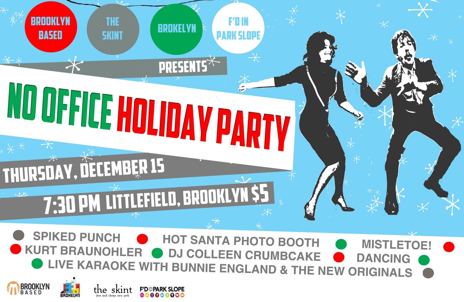 Funny Christmas Party Invitation