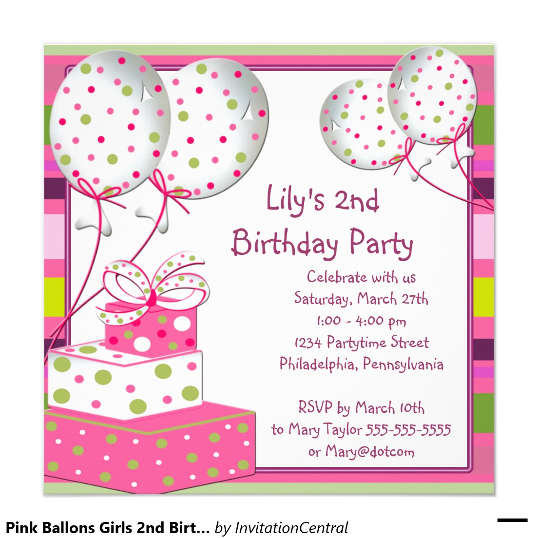 Invitation Cards For Birthday Party For Girls Cards Ideas With