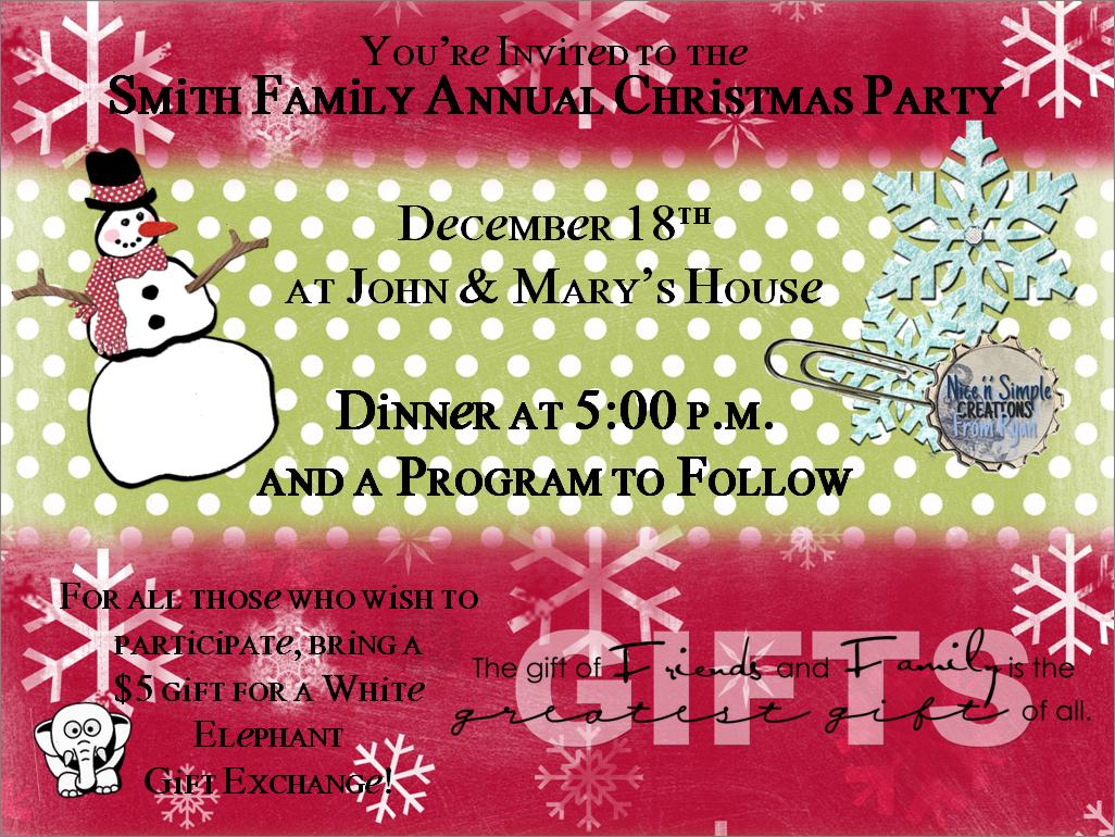 Dorable sample invitation letter for christmas party festooning luxury christmas party invitation wording funny crest invitations spiritdancerdesigns Images