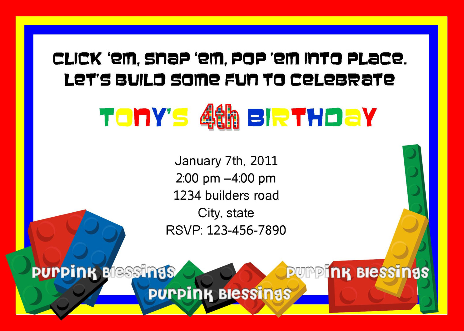 Lego Party Invitation Wording Mickey Mouse Invitations Templates – Free Lego Party Invitations