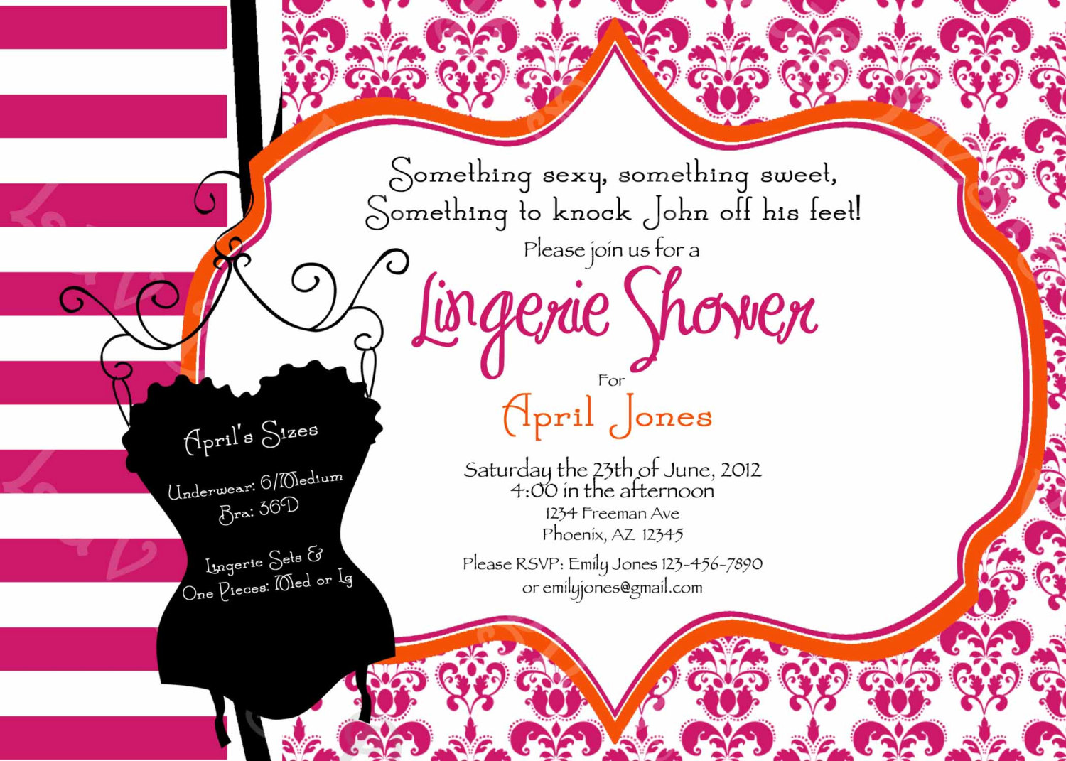 Paris Themed Invitations as amazing invitation example
