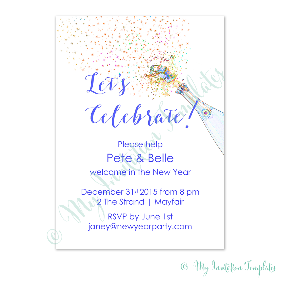 party invitation template word – Word Party Invitation Template