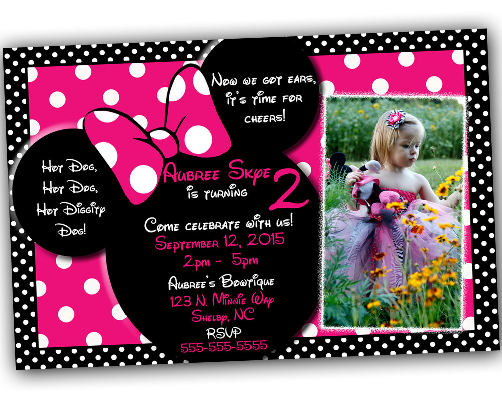 Minnie Mouse Party Invitations – gangcraft.net