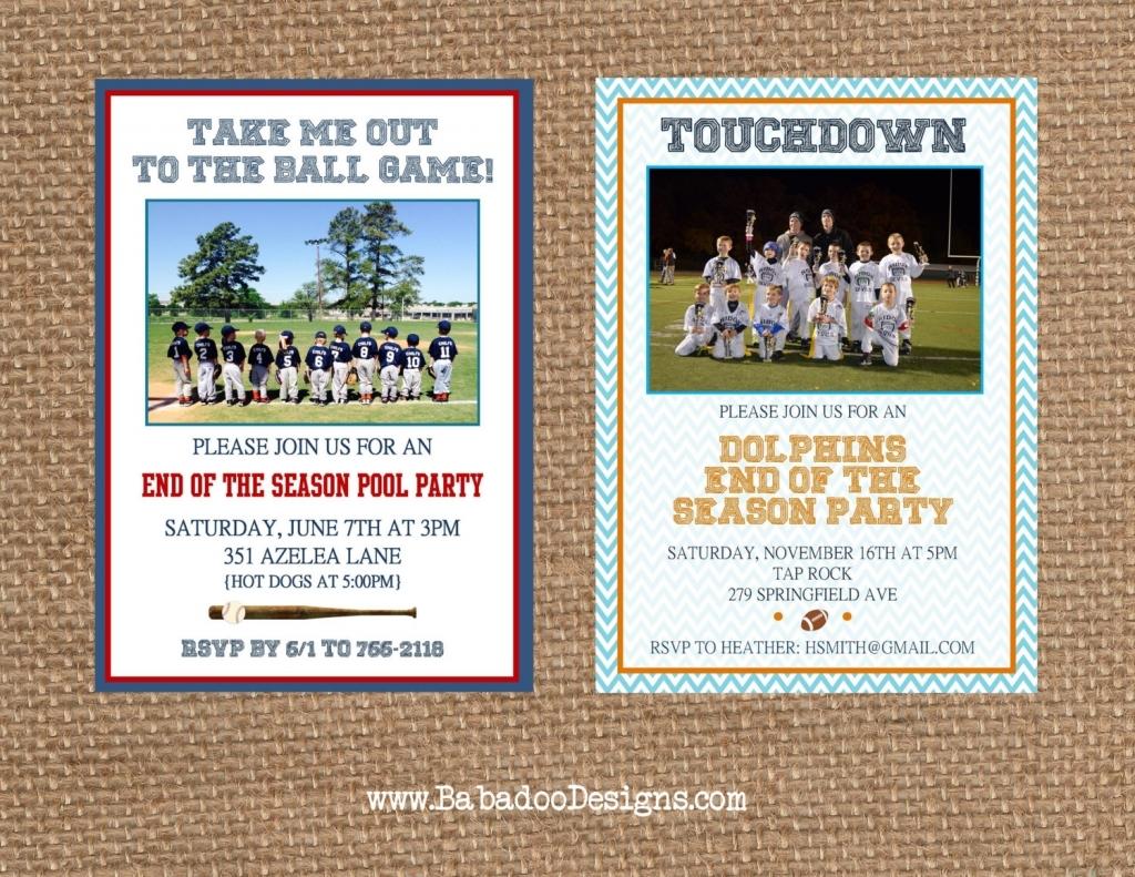 Softball Party Invitations Softball Invite Etsy