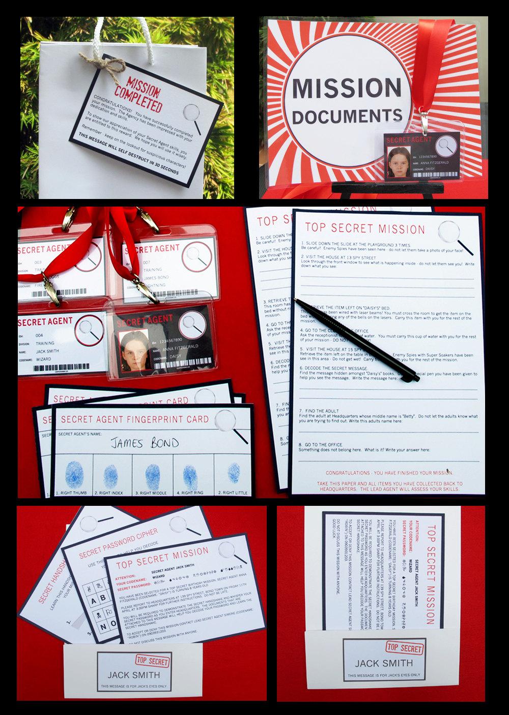 Famous Spy Party Invites Ideas - Invitation Card Ideas ...