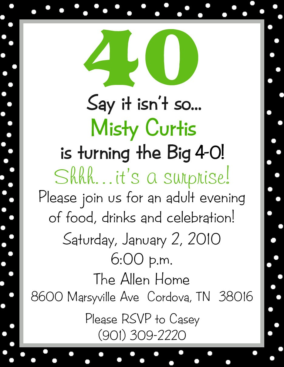 Surprise 50Th Birthday Invitations – gangcraft.net