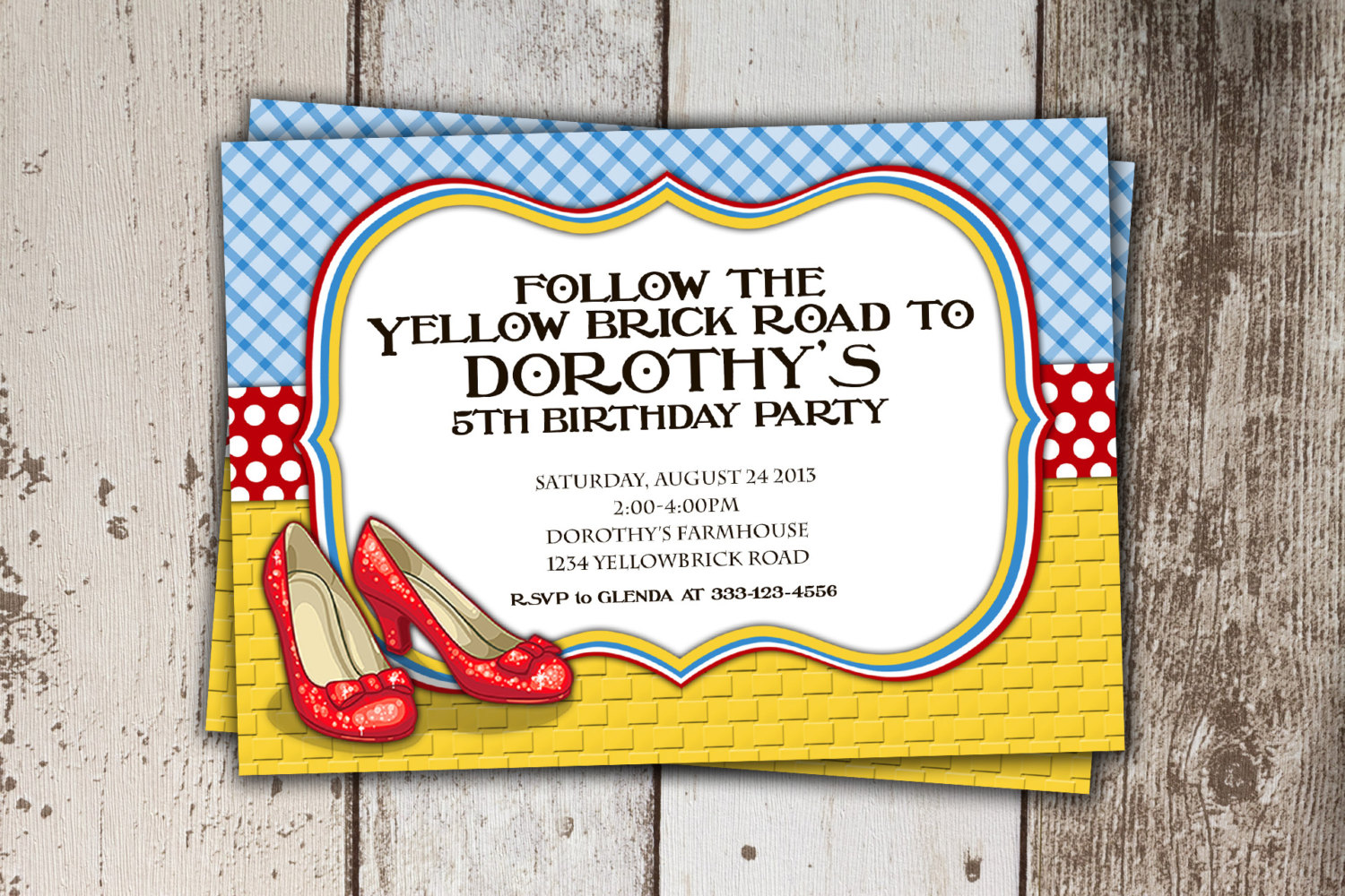 Wizard Of Oz Party Invitations - Mickey Mouse Invitations Templates