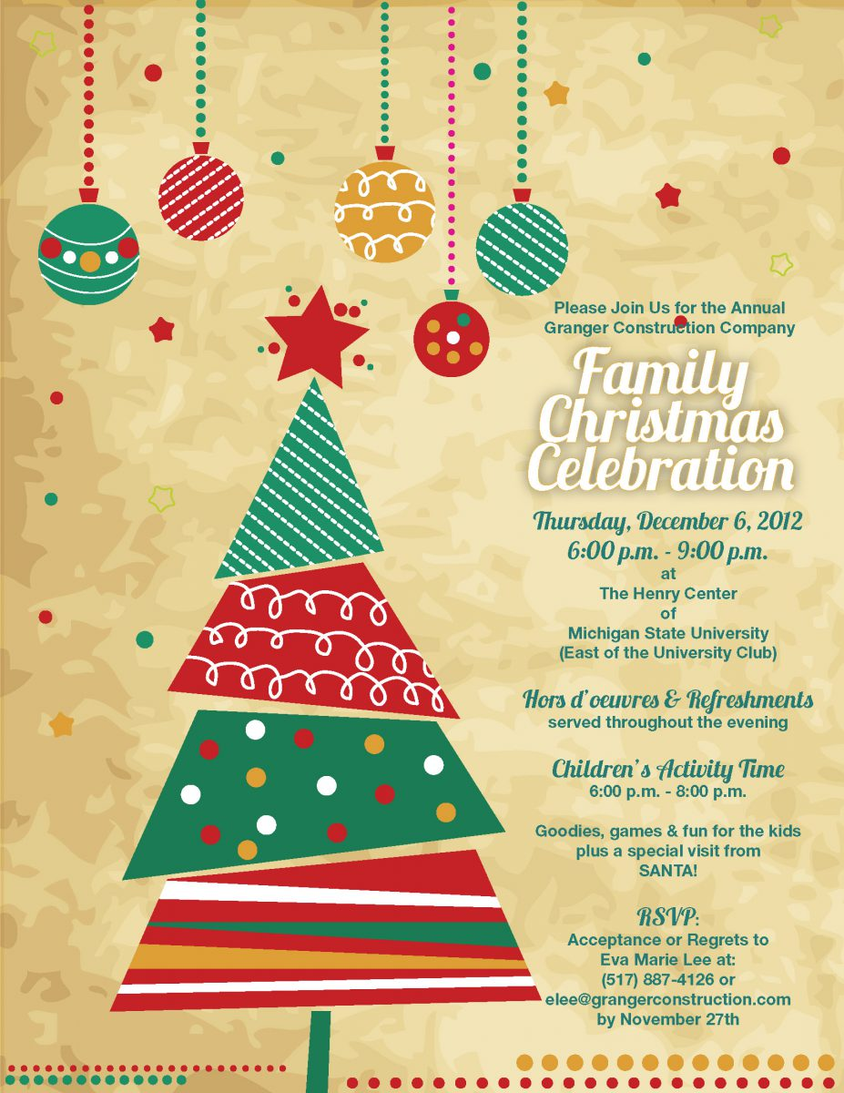Fun Christmas Party Ideas For Work Part - 41: ... Work Christmas Party Invitation ...