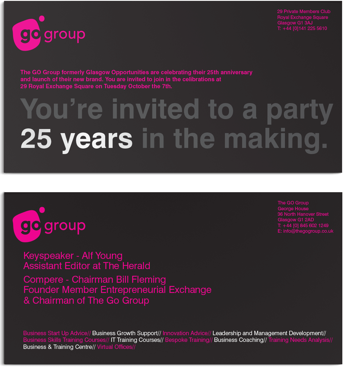 Th Birthday Party Invitations Mickey Mouse Invitations Templates - 25th birthday invitation templates