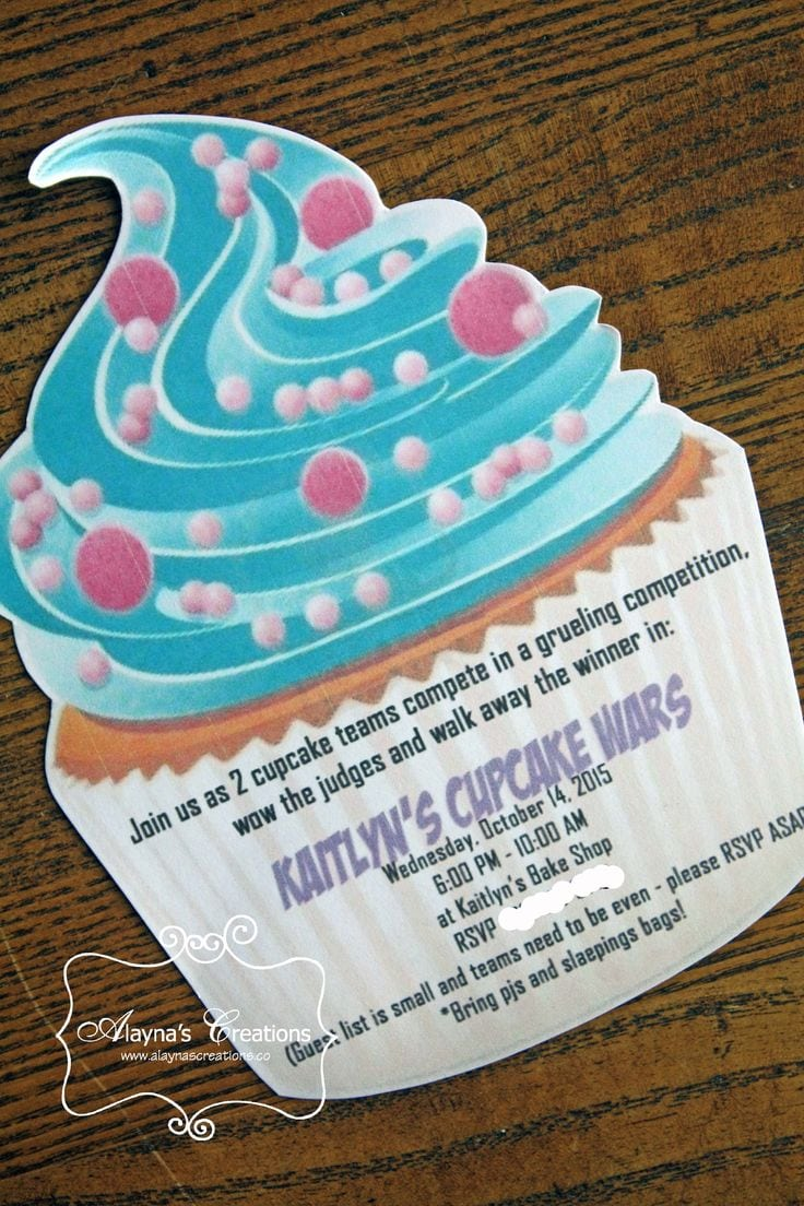 1000+ Ideas About Cupcake Wars Party On Pinterest