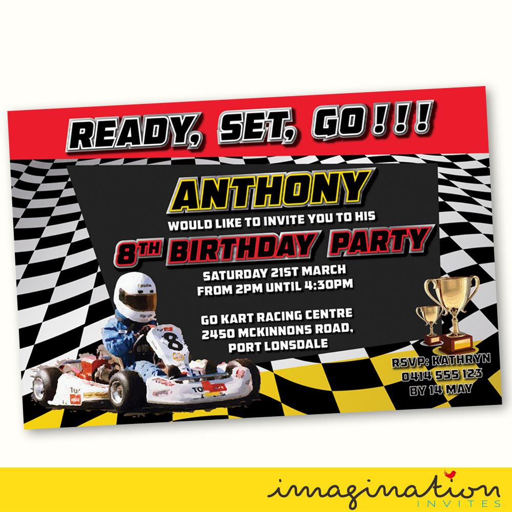 1000+ Ideas About Go Kart Party On Pinterest