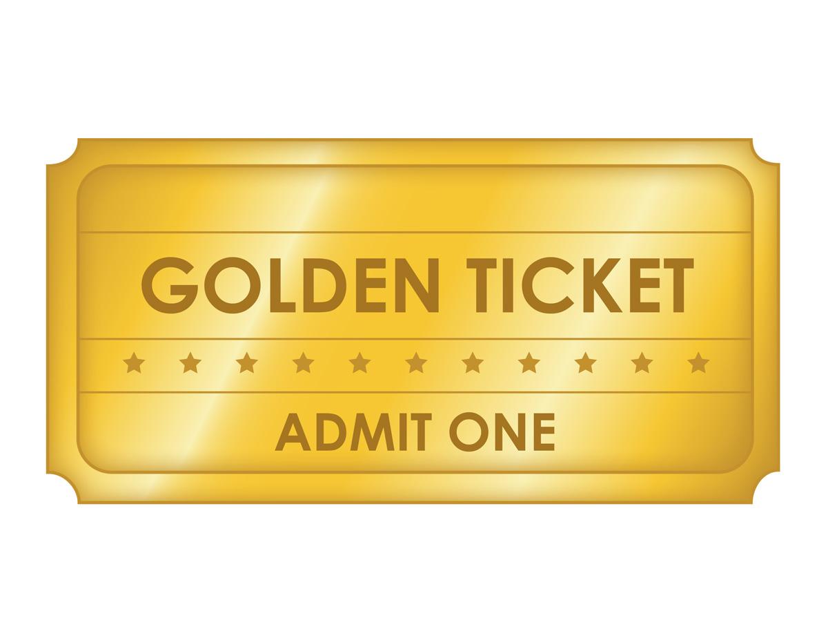 1000+ Ideas About Golden Ticket Template On Pinterest