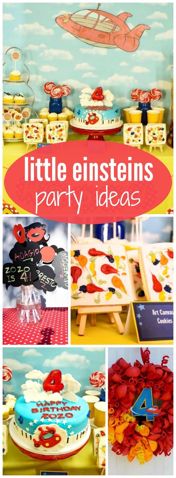 1000+ Ideas About Little Einsteins Birthday On Pinterest