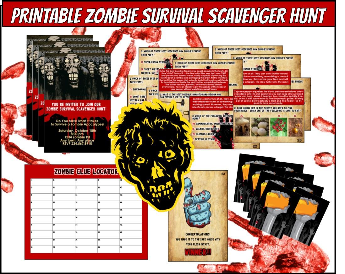 1000+ Ideas About Zombie Apocalypse Party On Pinterest
