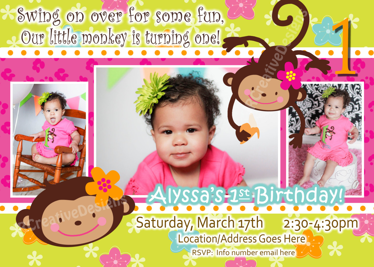 1000+ Images About Addison's 1st Birthday On Pinterest