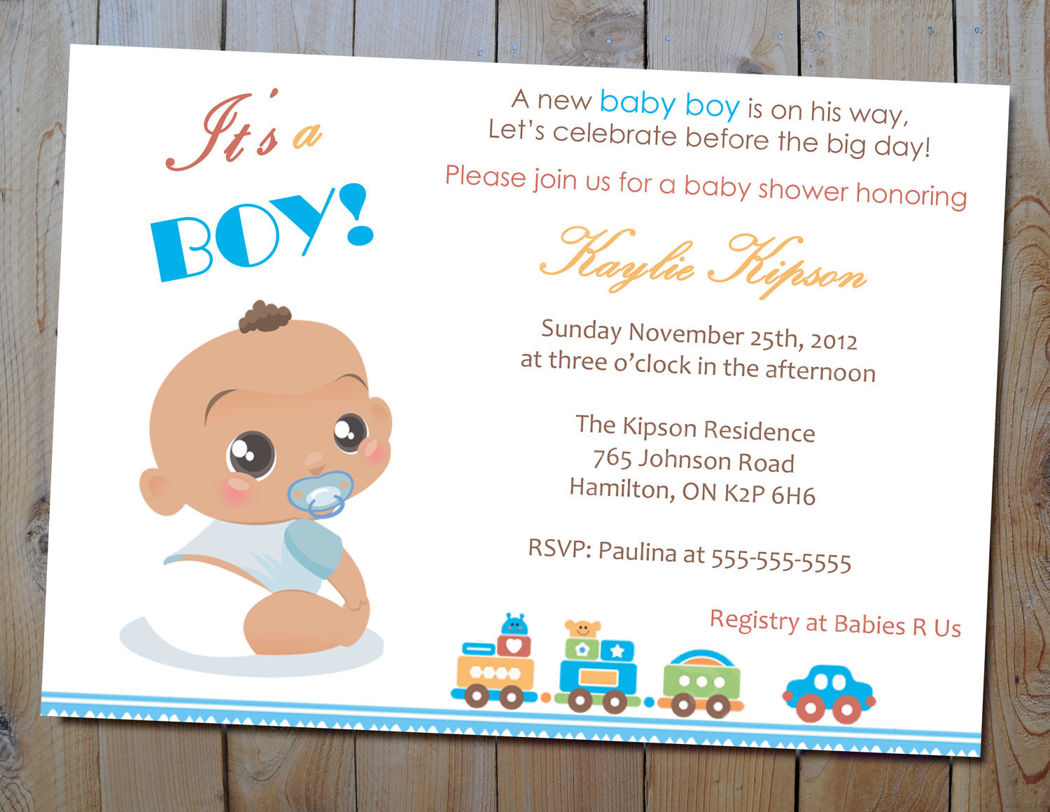 1000+ Images About Baby Shower Invitation Card On Pinterest