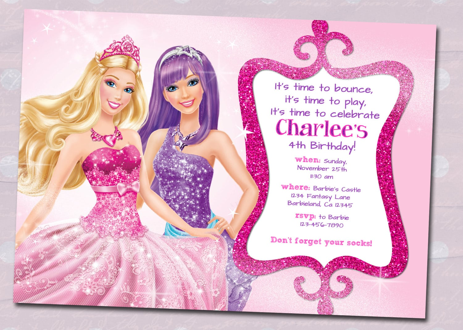 1000+ Images About Barbie Birthday Party Ideas On Pinterest