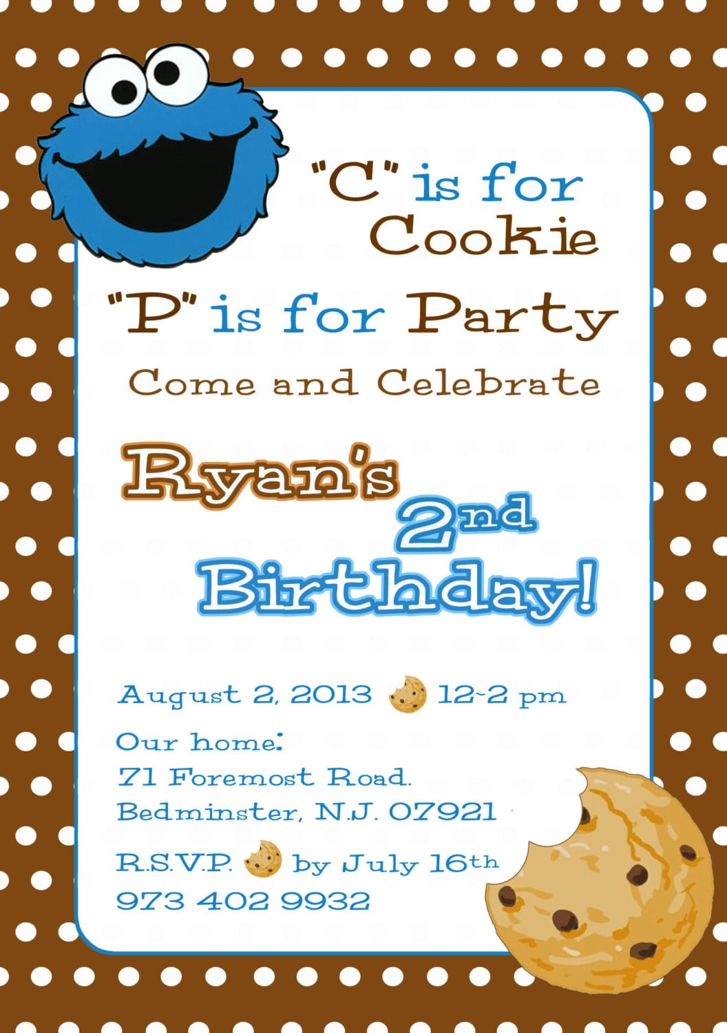 1000+ Images About Cookie Monster Bday Party On Pinterest