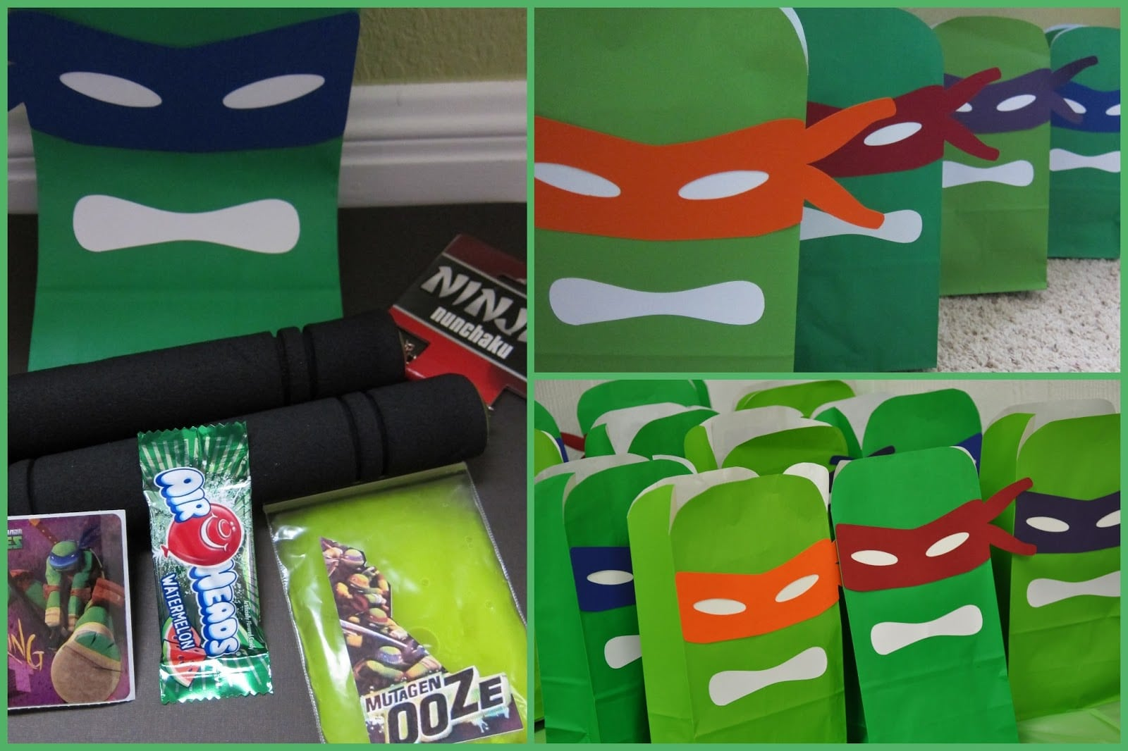 1000+ Images About Ninja Turtles Birthday Party Ideas On Pinterest