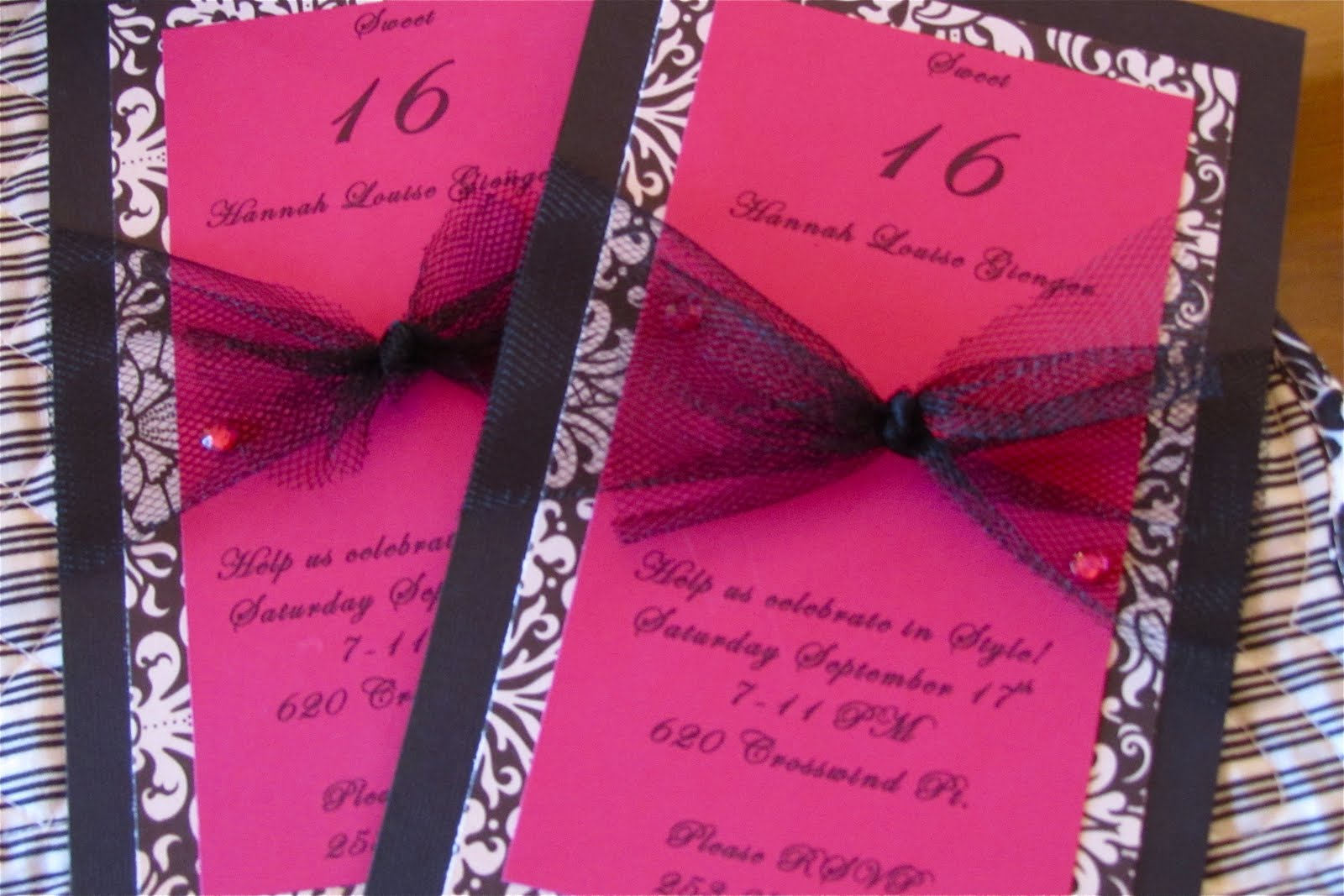 1000+ Images About Sweet 16 Invitations On Pinterest