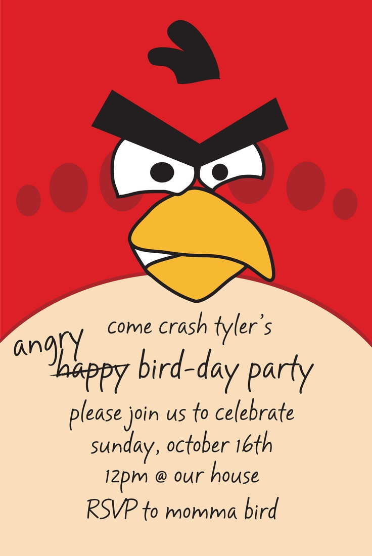 10 Best Images About Party    Angry Bird! On Pinterest