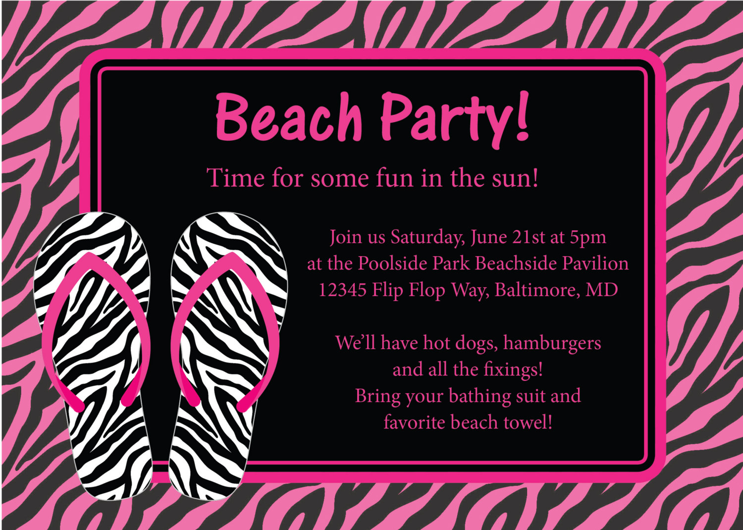 10+ Images About Beach Invitations On Pinterest