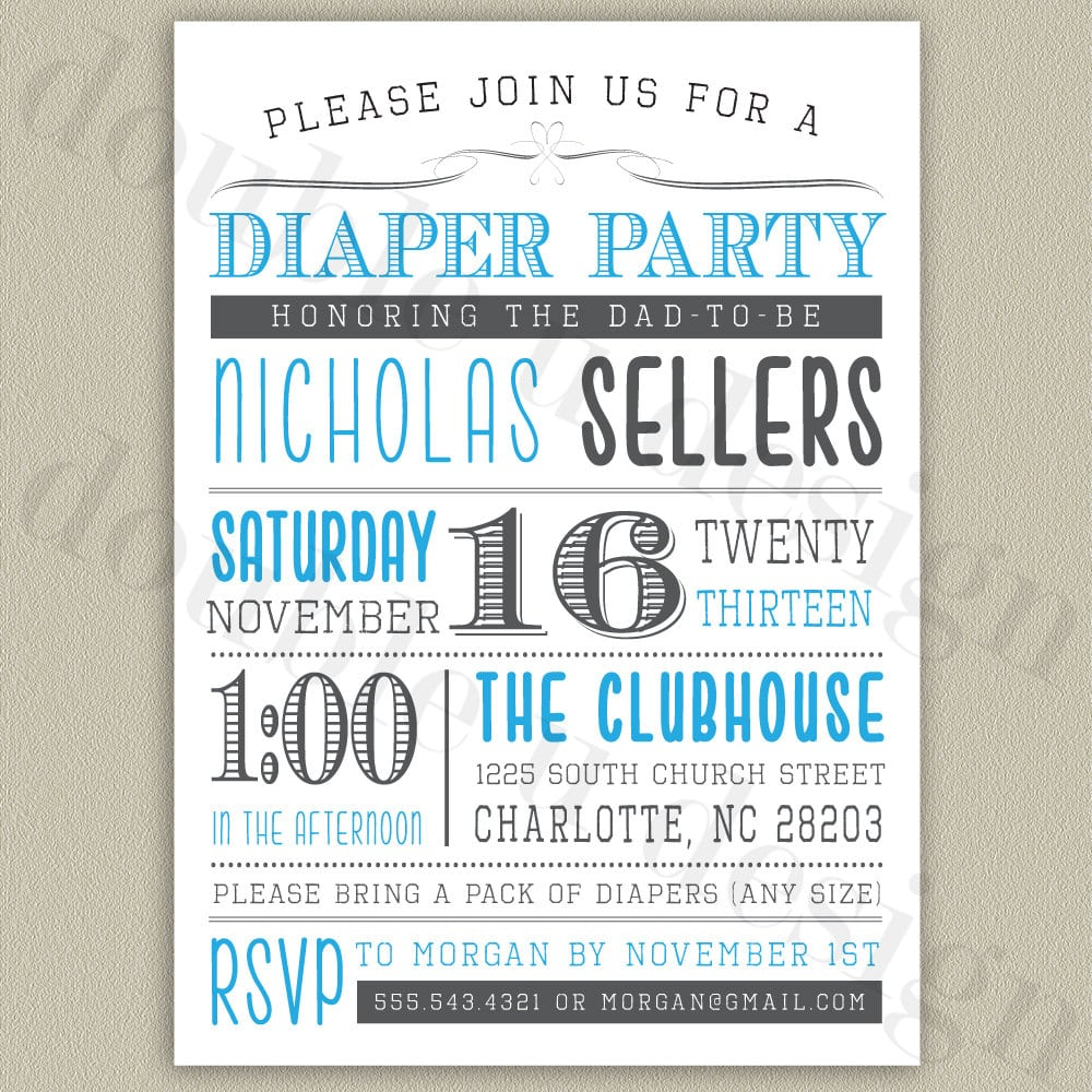 10+ Images About Diaper Party On Pinterest