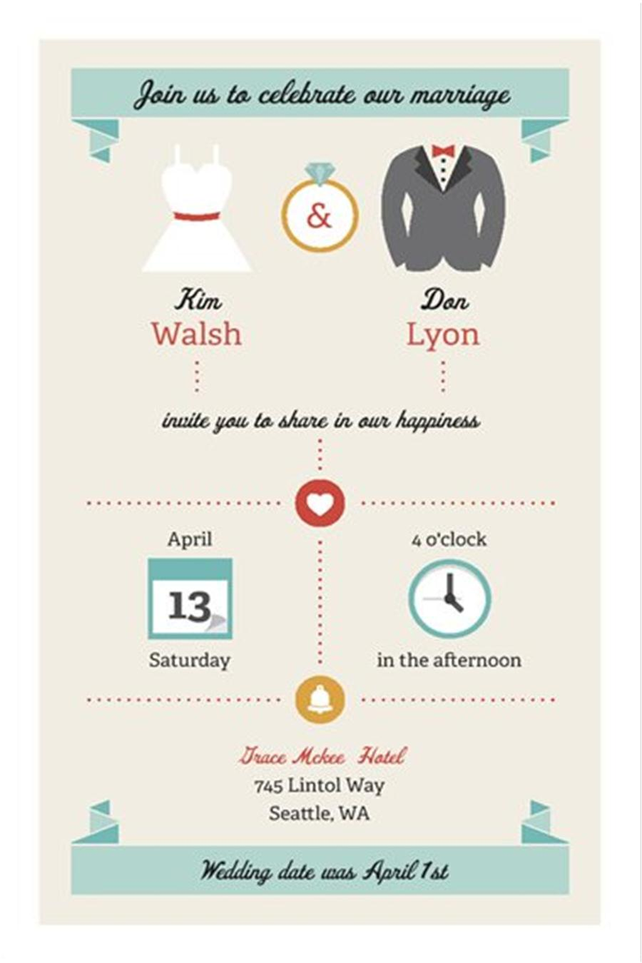 10+ Images About Eloping Party Invitations (invite Friends To An