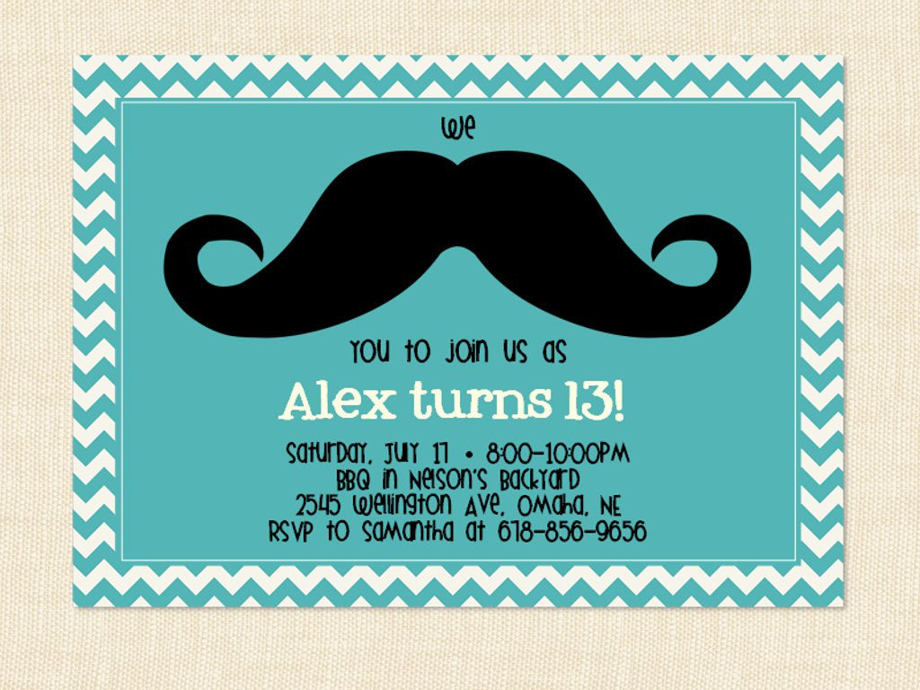 13 Birthday Invitations 13th Birthday Party Invitations Wording